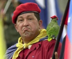 Chavez and his sidekick