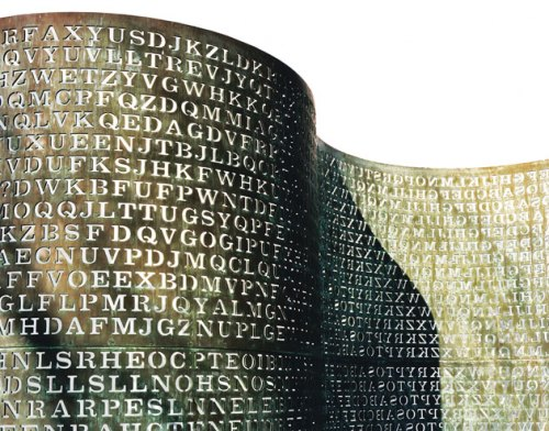 KRYPTOS sculpture at CIA headquarters