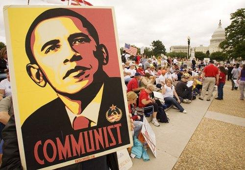 9-12 Obama Communist