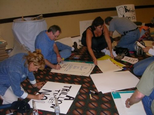 9-12 Sign Making - This is grass roots