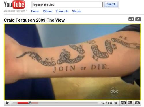 Craig Fergusons Tattoo
