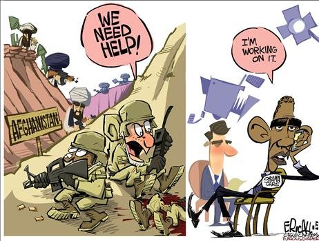Obamas Priorities Do Not Include Afghan War