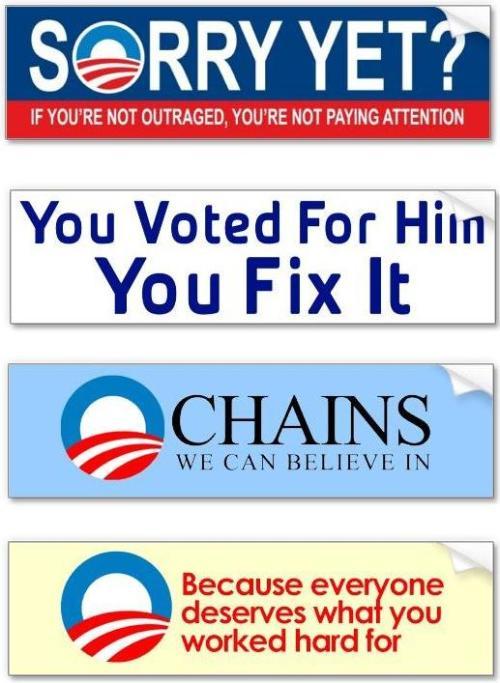 Obama Stickers 1