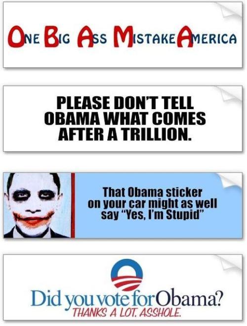 Obama stickers 5